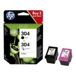 Cartouches d'encre HP 304 : nouveau MultiPack HP 3JB05AE