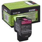 Consommable compatible Lexmark 80C2SM0.