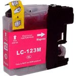 Consommable compatible Brother LC123M.