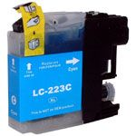 Consommable compatible Brother LC223C.