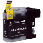 Consommable compatible Brother LC229XLBK.